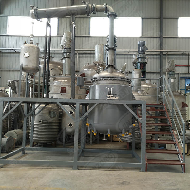 Stainless steel Jacketed Type Reactor