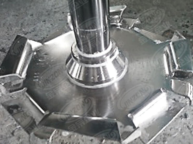Jinzong Machinery anticorrosion glass-lined reactor Chinese for reflux