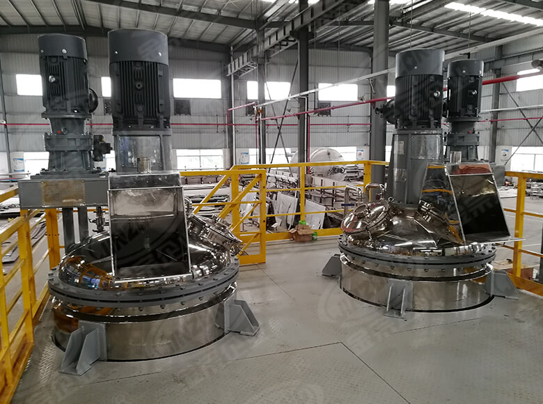 Jinzong Machinery resin stainless steel reactor manufacturers company for reaction-1