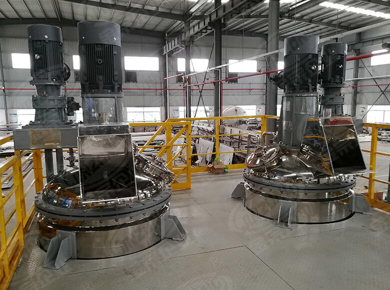 Jinzong Machinery resin stainless steel reactor manufacturers company for reaction