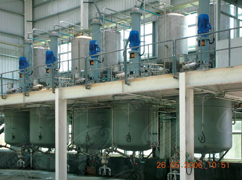 Jinzong Machinery disperser chemical reactor Chinese for reaction-7
