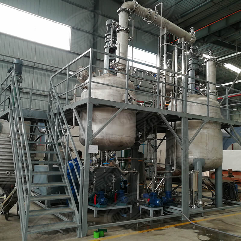 Jinzong Machinery disperser chemical reactor Chinese for reaction-1