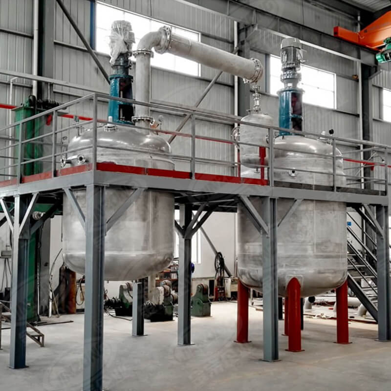 Jinzong Machinery disperser chemical reactor Chinese for reaction-2