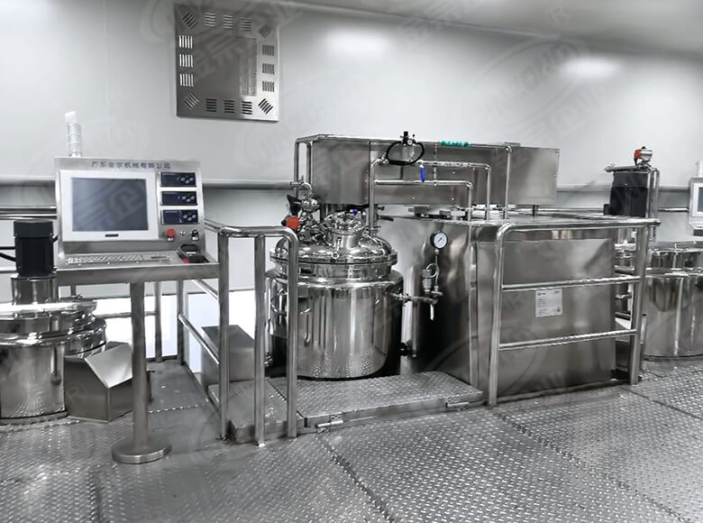 Jinzong Machinery practical Cosmetic cream homogenizer suppliers for food industry-1