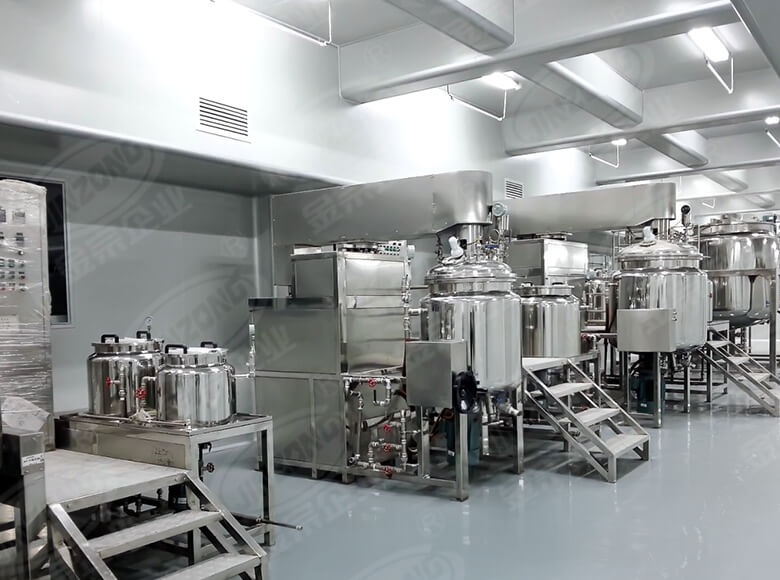 Jinzong Machinery practical Cosmetic cream homogenizer suppliers for food industry-3