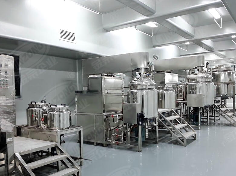 Jinzong Machinery practical Cosmetic cream homogenizer suppliers for food industry