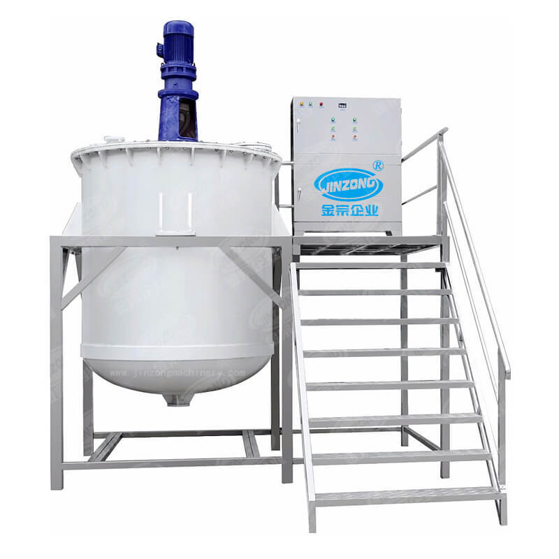 ointment making machine & mixing tank