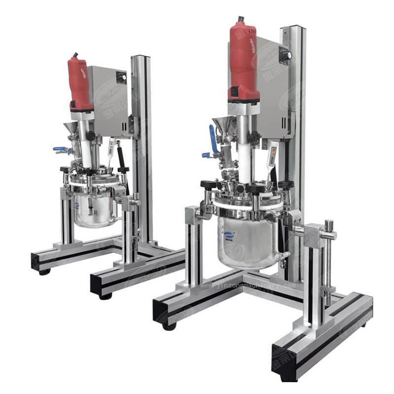 MLR Multifunctional Laboratory Vacuum Emulsifying Mixer