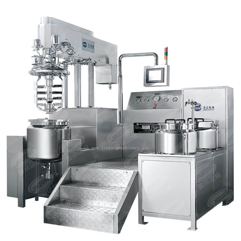 Vacuum Emulsifying mixer Ointment Making Machine