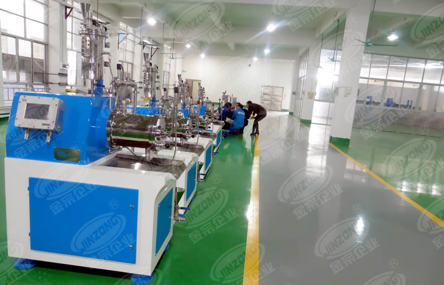Jinzong Machinery sand powder mixing equipment high speed for workshop-1