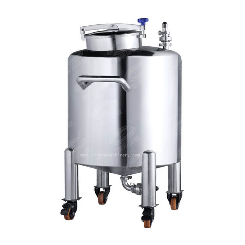 Stainless Steel Storage Tank used in dairy engineering