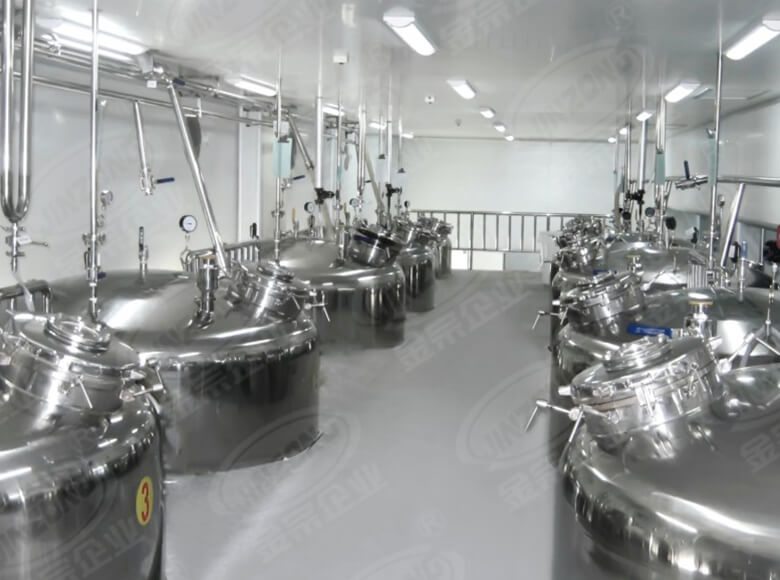 Jinzong Machinery latest stainless mixing tank manufacturers for petrochemical industry-2
