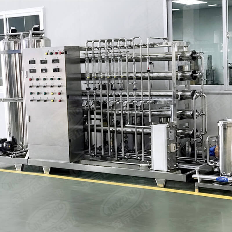 RO Water Treatment applied for cosmetics and  pharmacy