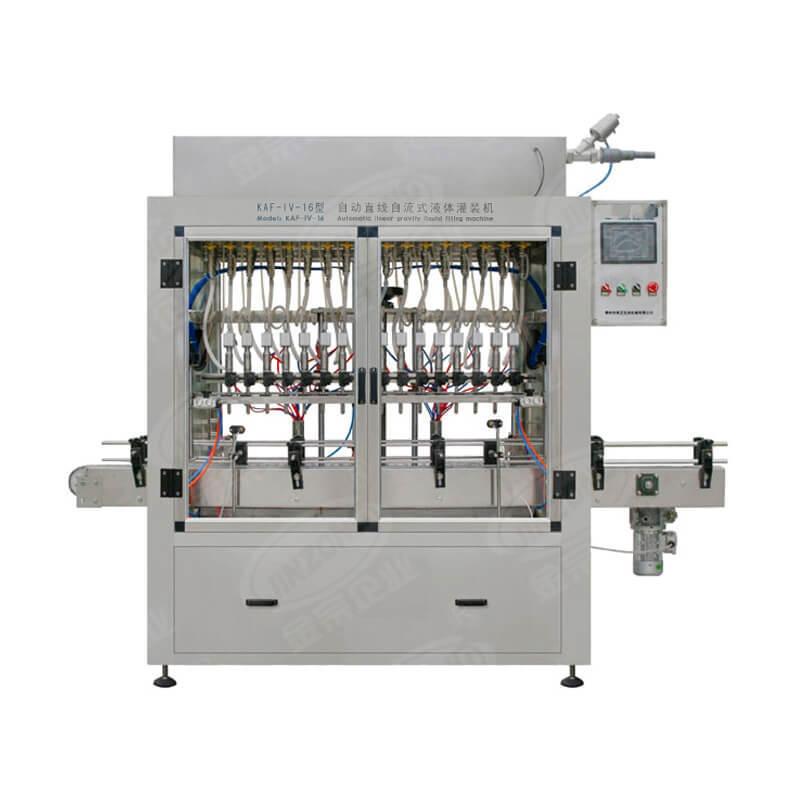 Automatic liquid and cream filling machine