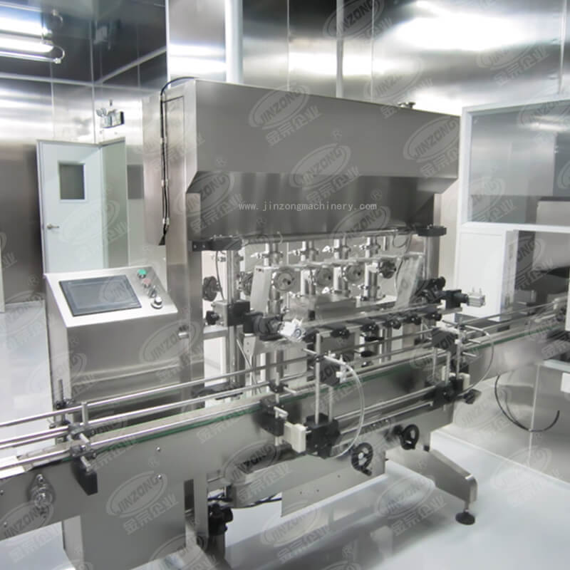 Automatic liquid and cream filling machine