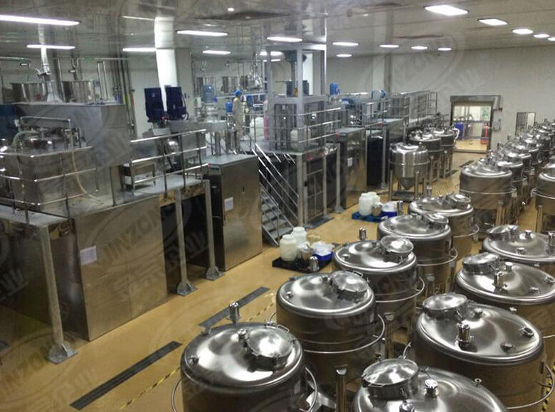 Jinzong Machinery practical cosmetic mixer equipment wholesale for food industry