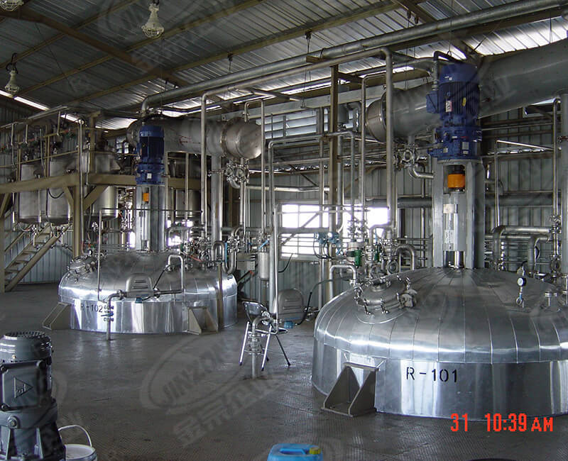 Acrylic emulsions plant