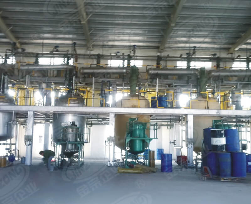 Agent plant for textile industry