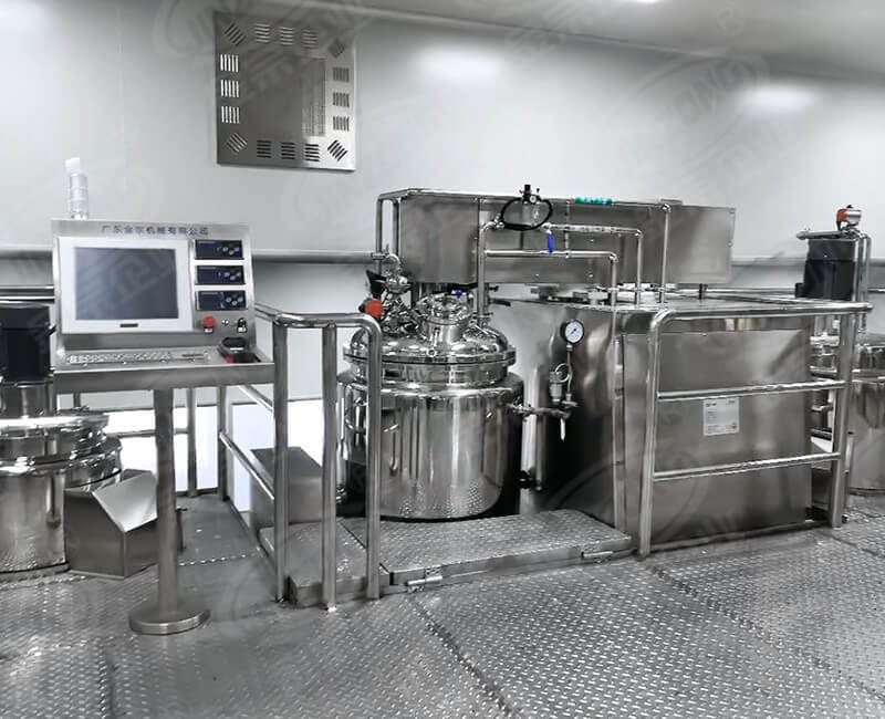 Automatic control production line