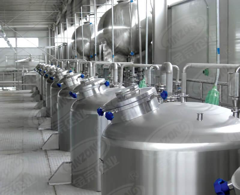 Pharmaceutical production Sanitary storage tank