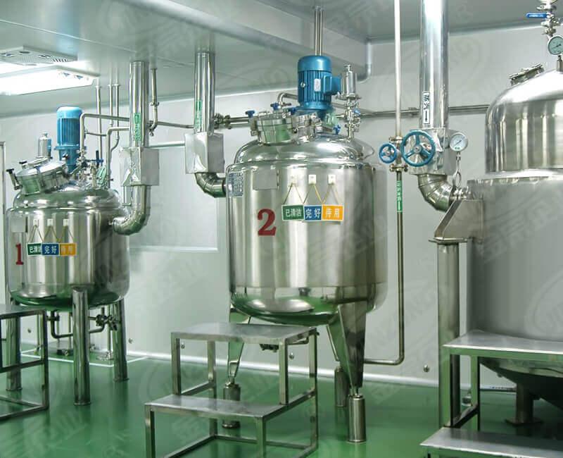 Oral liquid production equipment