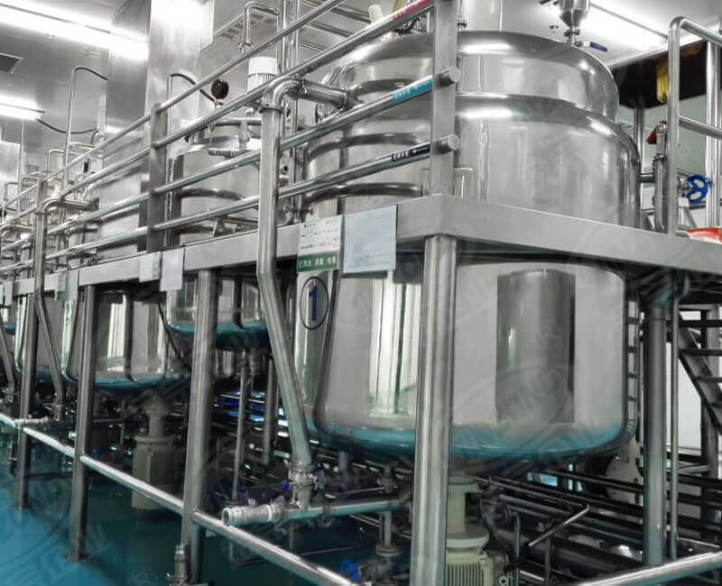 Ointment production equipment