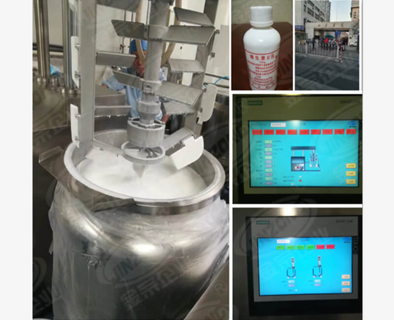 Automatic control of paste making equipment