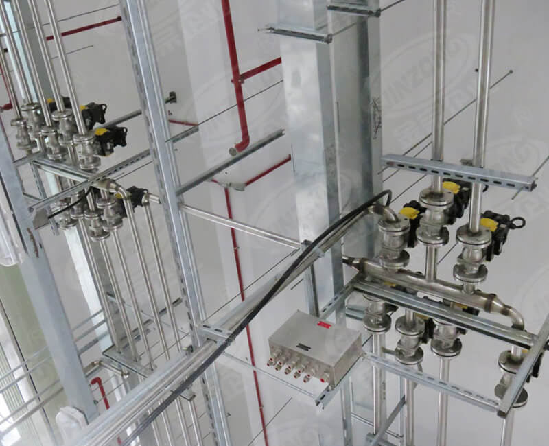 Automatic control of pipeline valves