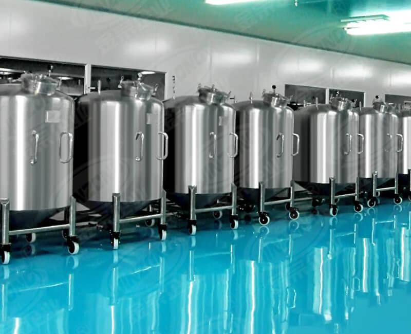 Stainless steel Sanitary storage tank