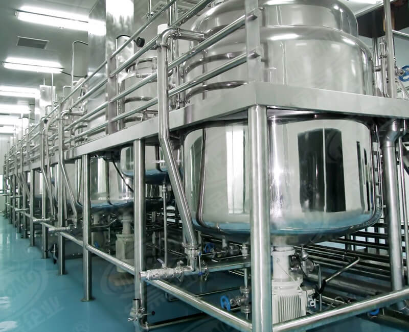 Food raw material production line machine