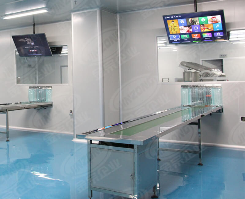 Dairy products, wine all stainless steel conveyor