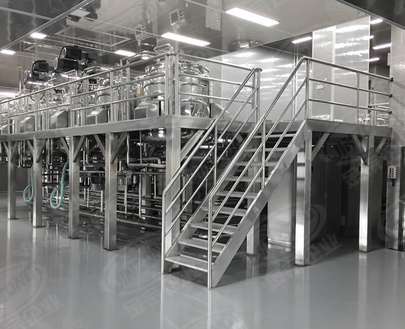 Cream, honey products production equipment