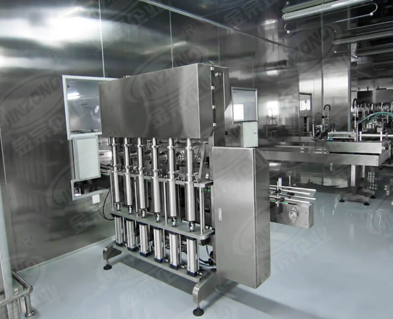 Automatic sauce filling machine project