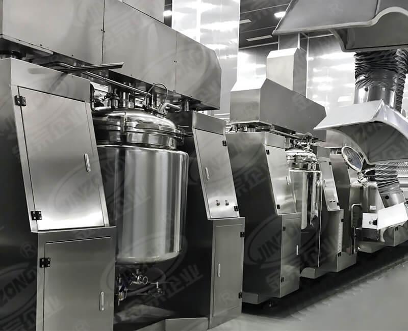 Vacuum homogeneous emulsifying equipment