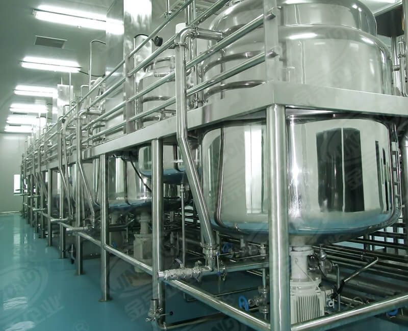 Skin cleaning products making machine