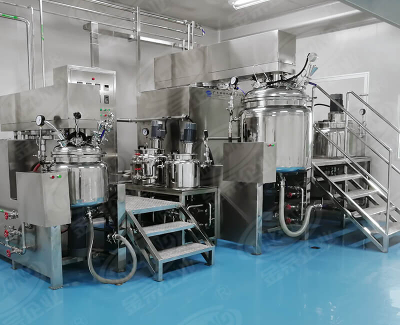 Emulsify production line
