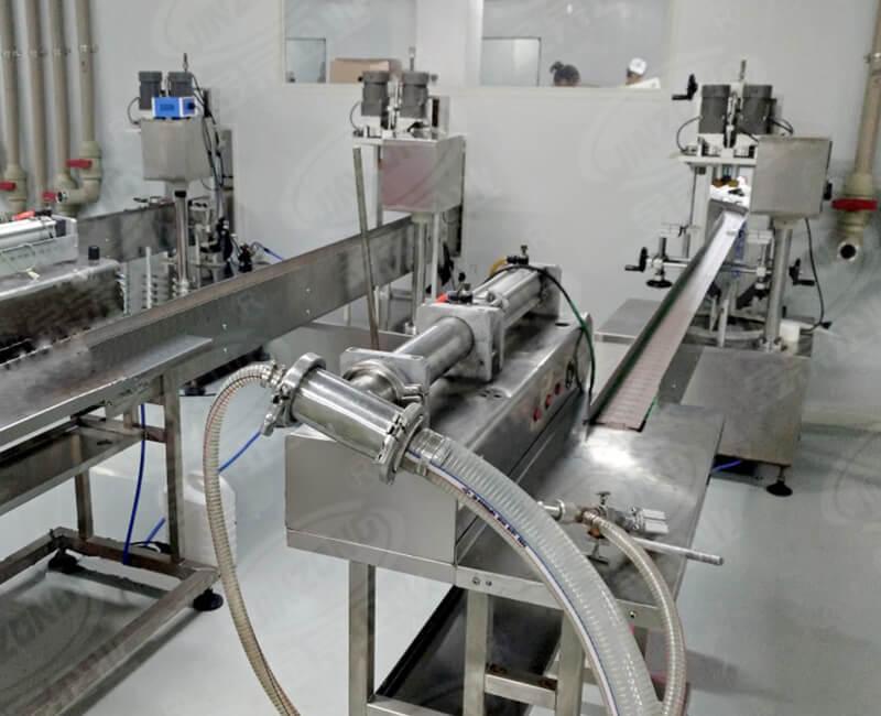 Cosmetics conveyor