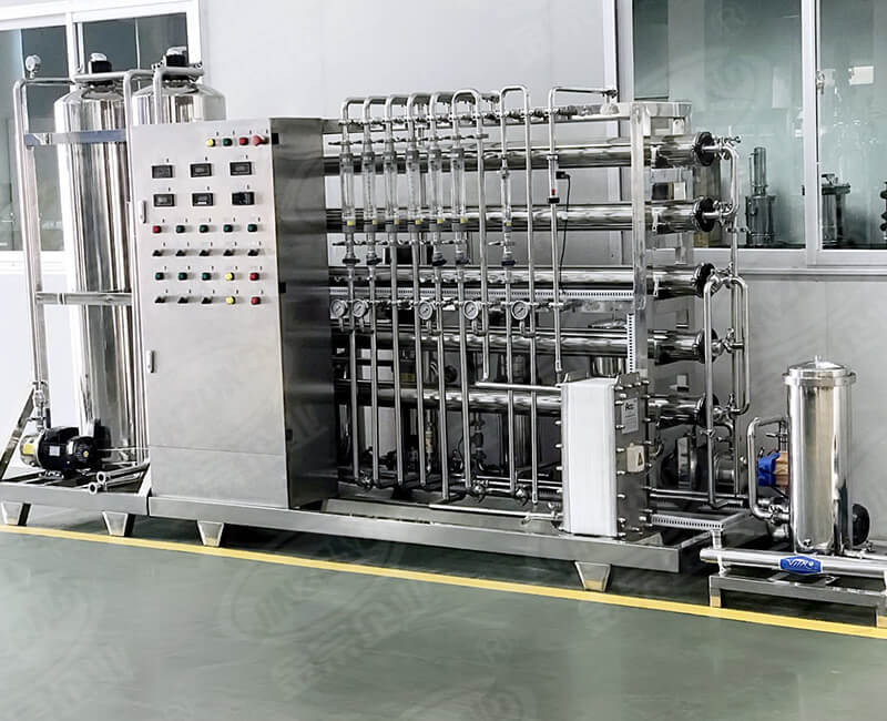 Automatic stainless steel water treatment