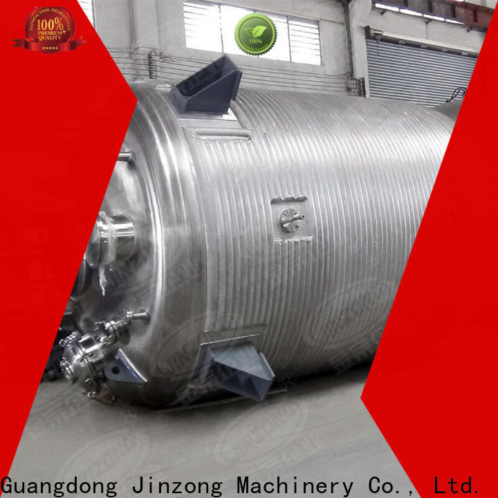 Jinzong Machinery top chemical machine suppliers for reaction