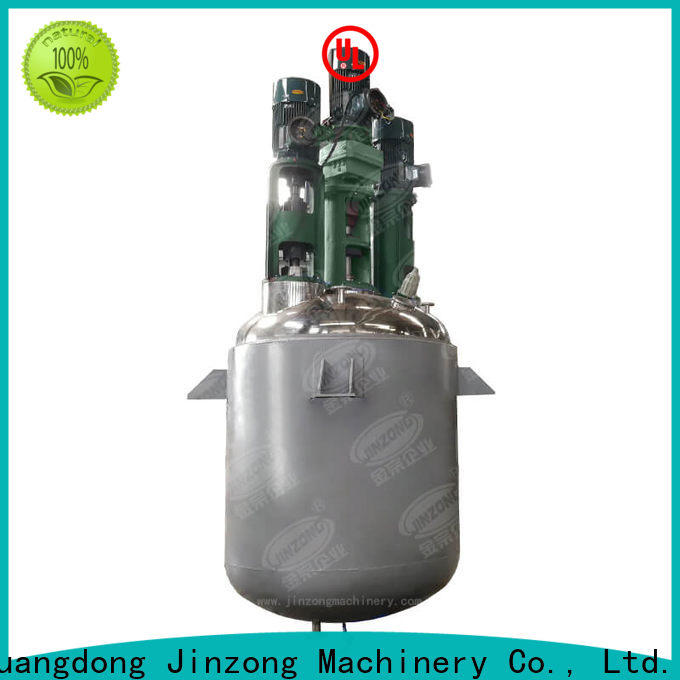 Jinzong Machinery electrical acylic resin reactor factory for reflux