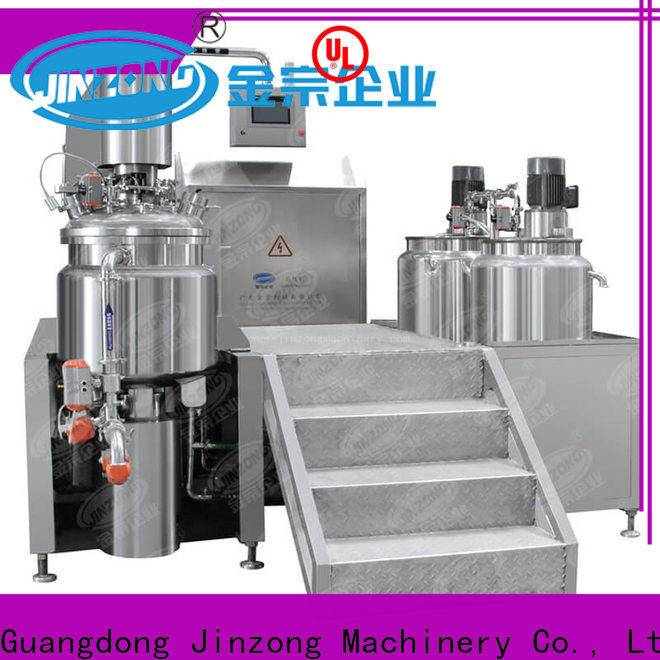 Jinzong Machinery custom shampoo filling machine manufacturers for food industry