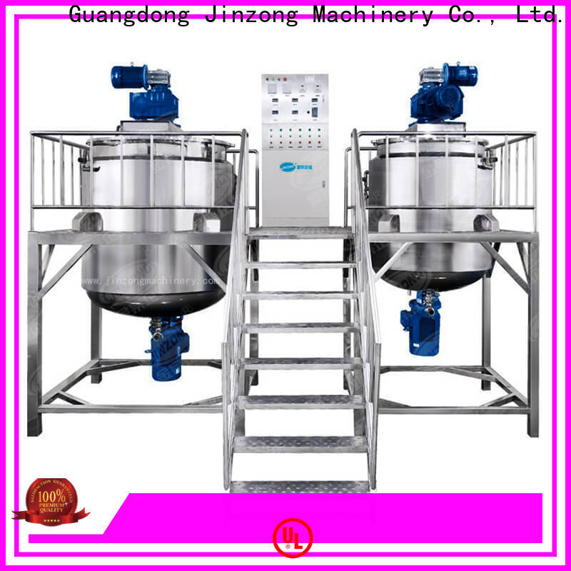 Jinzong Machinery best stainless mixing tank high speed for paint and ink