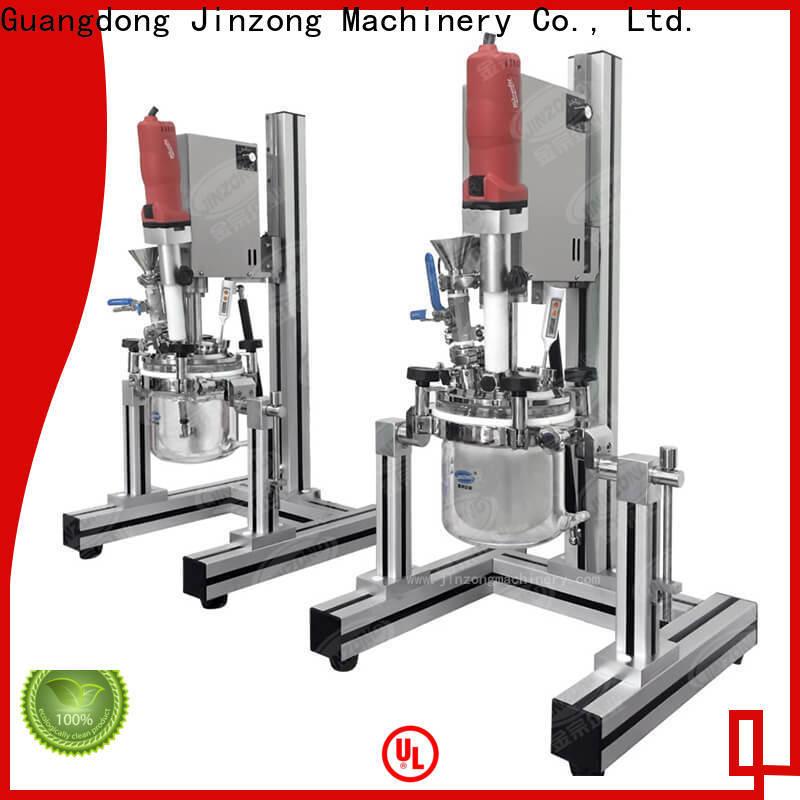 Jinzong Machinery custom cosmetic cream filling machine supply for nanometer materials