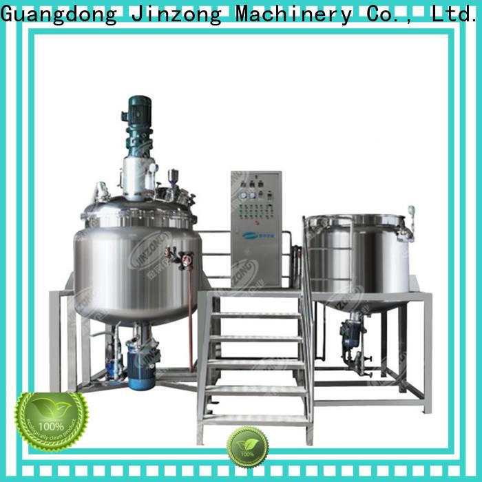Jinzong Machinery custom pharmaceutical mixing equipment factory for reflux