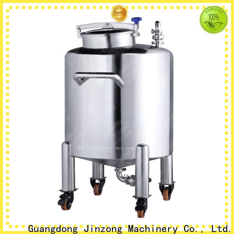 Jinzong Machinery liquid cosmetic machine supply for nanometer materials