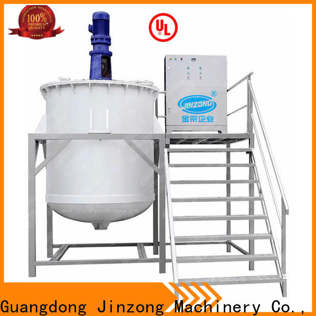 Jinzong Machinery ro stainless steel mixing tank suppliers for paint and ink