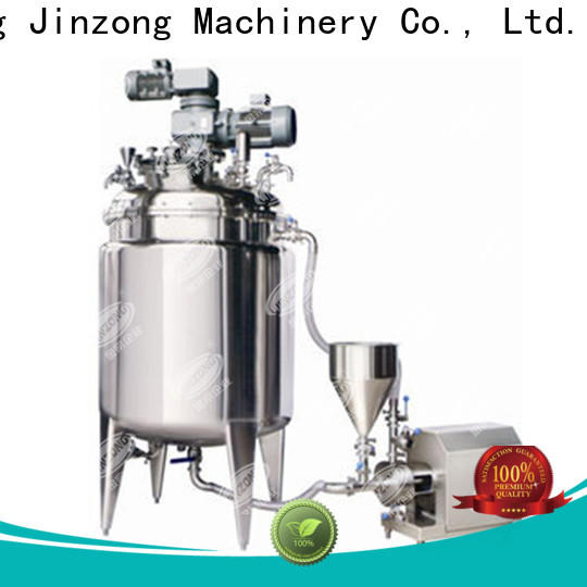 Jinzong Machinery high-quality evaporation machine suppliers for reaction