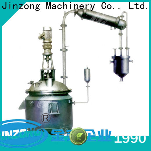 Jinzong Machinery pharmaceutical reaction reactors supply for pharmaceutical