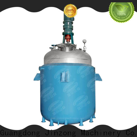 Jinzong Machinery machine jacketed reactor manufacturers for stationery industry