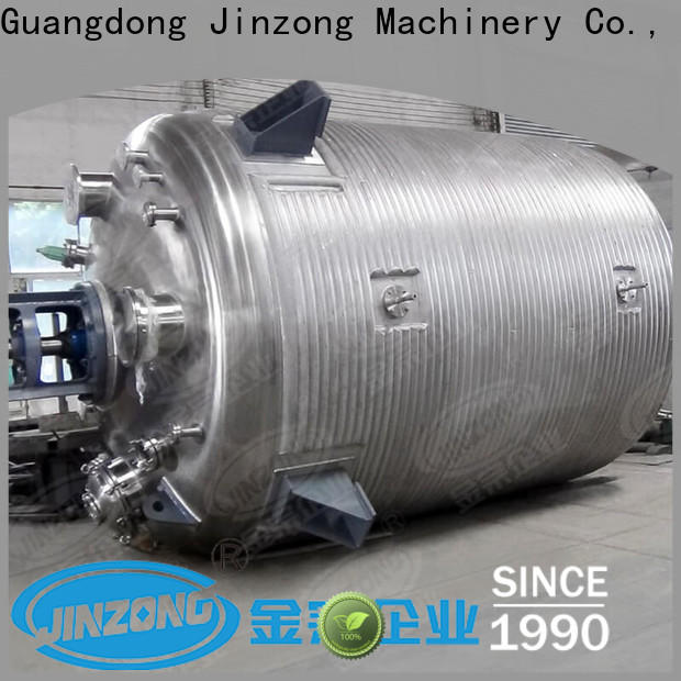 Jinzong Machinery lifting jacketed reactor suppliers